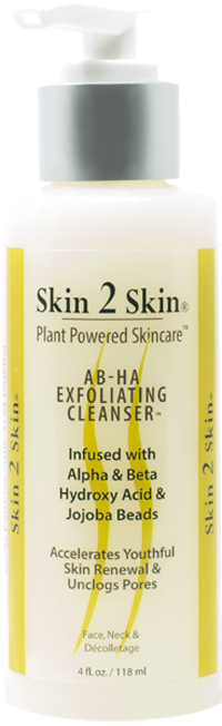 Skin 2 Skin AB-HA (Alpha & Beta Hydroxy Acid) Esfoliating Cleanser