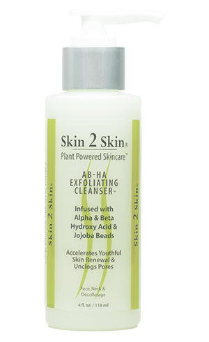Skin 2 Skin AB-HA (Alpha & Beta Hydroxy Acid)Exfoliating Cleanser