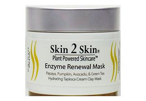 Skin 2 Skin Enzyme Renewal Mask - Clay Mask Exfoliating Detox Moisturizing