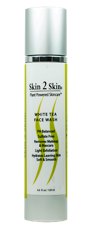 Skin 2 Skin Award Winning Daily Hydrating White Tea Face Wash