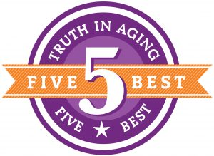 Skin 2 Skin recives Five Best Skincare Prodcuts from Truth in Aging