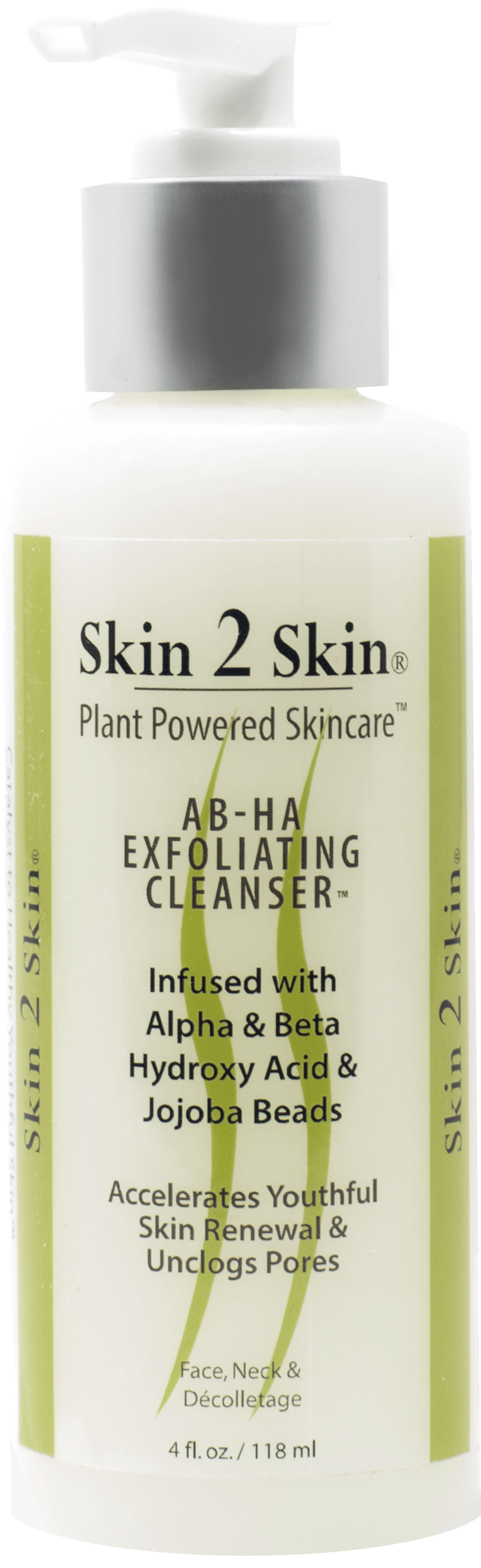 Skin 2 Skin AB-HA Exfoliating Cleanser