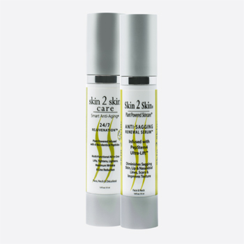 Skin 2 Skin Best Anti-Aging 2ps Set 24/7 Rejuvenation & Anti-Sagging Renewal Serum