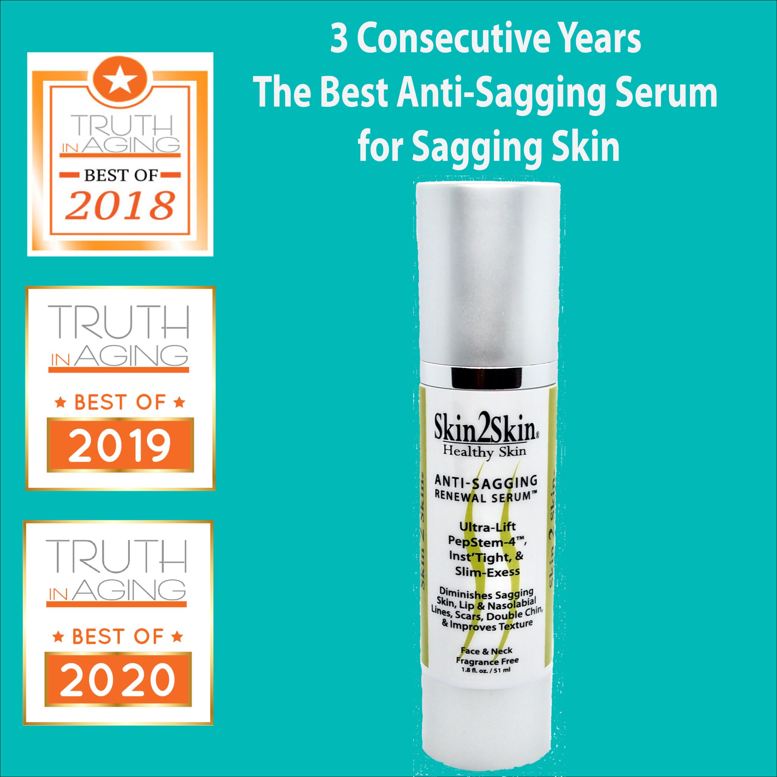 The Best Anti-Sagging Serum Skin 2 Skin's Anti-Sagging Renewal Serum